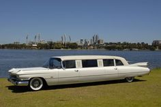 """A """"stretched"""" 1959 Cadillac Fleetwood 75 Limousine. 1959 Cadillac, Flower Car, Cadillac Fleetwood, Cadillac Eldorado, Unique Cars, Car Car, Exotic Cars, Luxury Cars, Vintage Cars"""