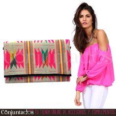Descubre nuestra chulísima selección de #bolsos #étnicos ★ 19,95 € en https://www.conjuntados.com/es/bolso-de-mano-bandolera-de-estilo-etnico-en-tonos-fucsia-y-amarillo.html ★ #novedades #bolso #handbag #purse #crossbodybag #conjuntados #conjuntada #accesorios #lowcost #complementos #moda #fashion #fashionadicct #picoftheday #outfit #estilo #style #GustosParaTodas #ParaTodosLosGustos