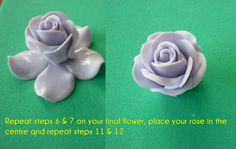 2 Minute Rose Tutorial | Miss Piggy's Cakes