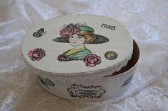 Spanschachtel Oval von Geschenke-Tee-Keramik auf DaWanda.com