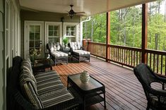 Deck refinishing is a great way to help maintain your deck. This article offers step-by-step methods that show you how to refinish a deck yourself. Deck Building Designs, Gray House Exterior, Grey Houses, Deck Building Cost, Deck Colors, Home, Deck Refinishing, Outdoor Living Deck, Diy Deck