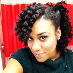 Hairstyles For Short Hair To Go Out : ... Hairstyles) on Pinterest Twist outs, Natural hair and Flat twist
