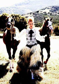 """Wild Chic Style"" Vogue Italia June 2014"