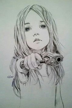 "I load the gun and point it at the person in front of me. They seem unafraid. ""Children shouldn't play with guns"" they comment. ""Who said I was playing"" I sneer, annoyed. (Rp?)"
