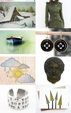 Snow - Heart Attack by Elinor Levin on Etsy--Pinned with TreasuryPin.com
