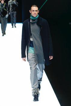 Emporio Armani | Menswear - Autumn 2018 | Look 33