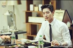"""park hae jin 박해진 朴海鎮 lotte duty free's drama """" 7 first kisses"""" behind the scene"""