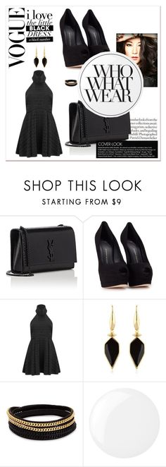 """""""Sans titre #840"""" by tva-lpz ❤ liked on Polyvore featuring Yves Saint Laurent, Giuseppe Zanotti, Finders Keepers, Isabel Marant, Vita Fede, Essie, Who What Wear, men's fashion and menswear"""