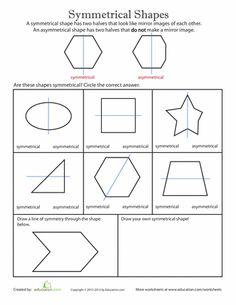 symmetry worksheet for kids maths for kids pinterest math math worksheets and symmetry. Black Bedroom Furniture Sets. Home Design Ideas