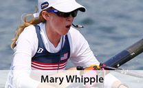 At 5 feet 3 inches and 106 pounds, Mary Whipple may seem like the sweet, ordinary girl next door. But don't let her looks fool you. On the water, she's a relentless competitor with a reputation for winning and a voice that can move water. As the coxswain for the U.S. Rowing team, this California native has taken the country by storm.