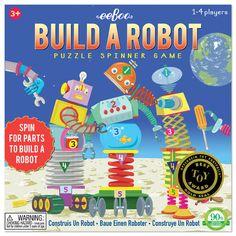 Build A Robot Spinner Game| eeBoo