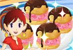 Hello cooking fans and welcome back to another fabulous Cooking Class with Chef Sara. Today like we are used to Sara has prepared something special to teach use how to prepare it. The recipe name is Ice Cream Puffs. Get to work and follow precisely all the instructions that will guide you trough the