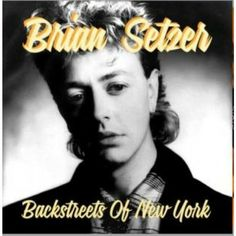 """♬''' Brian Setzer Backstreets Of New York 12"""" EP (coloured vinyl) Limited edition of 300 copies in Leopard Print vinyl. Featuring 4 previously unreleased alternate studio demos from the 1986 Knife Feels Like Justice album sessions. :) .'''♬ https://www.raucousrecords.com/brian-setzer-backstreets-of-new-york-vinyl.html"""