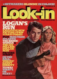 """This hardcover Logan's Run """"Annual"""" was released in 1978 by UK publisher Brown Watson, and contained - as these uniquely British publicat. 1970s Childhood, Childhood Memories, School Memories, Family Memories, Childhood Toys, Logan's Run Tv Series, Science Fiction, Uk Tv Shows, Boys Life"""