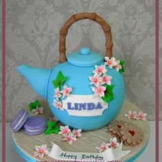 Japanese Tea Pot Cake