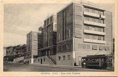 1934  GENOVA (GE) CASA DELLO STUDENTE by MARIO ANGELINI, MARIO BRACCIALINI