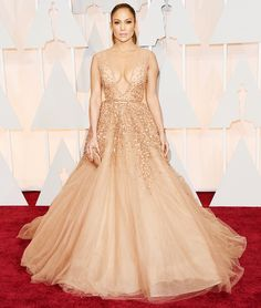 Jennifer Lopez in Elie Saab Haute Couture @ Oscars 2015