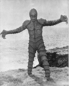 The Monster of Piedras Blancas (1959) which looks ABSOLUTELY NOTHING LIKE GILLMAN. NOPE.