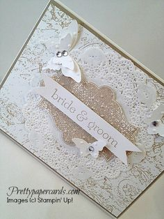 July Wedding Card by Pretty Paper Cards - Cards and Paper Crafts at Splitcoaststampers