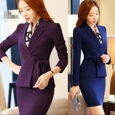 OL Lady Formal Work Professional Career Business Ladies Blazer & Skirt Suits 2pc | Clothing, Shoes & Accessories, Women's Clothing, Suits & Blazers | eBay!