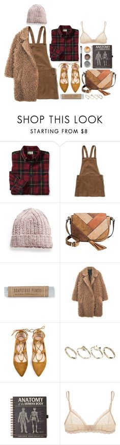 """""""And here i go again on my own"""" by magi-418 ❤ liked on Polyvore featuring Hollister Co., MANGO, Merona, ASOS, Eberjey and Bare Escentuals"""