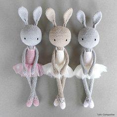 Trois petites ballerines Lulu Compotine