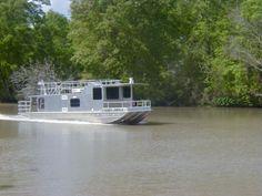 2011 Homemade Aluminum Houseboat House Boat For Sale in Southwest Louisiana - Louisiana Sportsman Classifieds