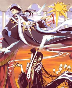 Clow Reed and Yuko Ichihara the most mysterious members of the CLAMP multiverse