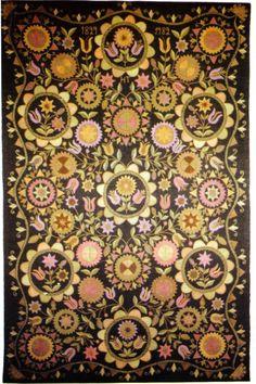 Helvi Taiston kirjoma rekipeitto Tulppaani vuodelta 1829/1982 Wool Embroidery, Textiles, Tapestry Weaving, Textile Art, Finland, Color Mixing, Tulips, Folk Art, Fabric