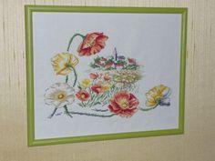 DFEA Le petit village sous les fleurs offert à ma Maman