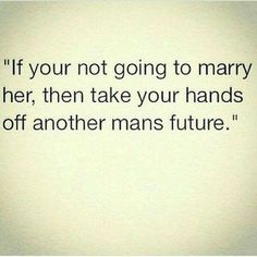 Any future in dating a married man