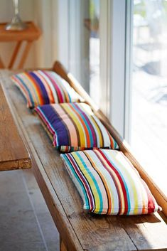 Weekend House, Cushions, Pillows, Floor Chair, Room Inspiration, Living Spaces, Colours, Blanket, Bed