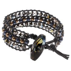 Leather Wrap Bracelet Tutorials