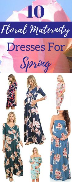 Maternity Dresses | Floral Maternity Dress | Maternity Fashion | Maternity Clothes | Maternity Wardrobe | Maternity Outfit | Maternity | Pregnancy Style | Bump Style | Mother Tucker