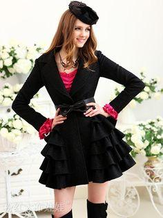 Long-sleeved sweater dress
