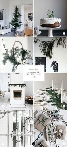The unrefined Christmas decoration guide via My Paradissi