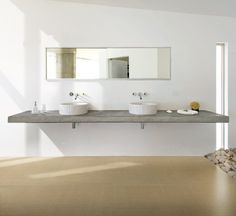Eco Friendly Tiles - The UK's Large Format Super Thin Tile Specialists Bathroom Partitions, Low Carbon, Eco Friendly House, Tonne, Energy Efficiency, Double Vanity, Tiles, Flooring, Mirror