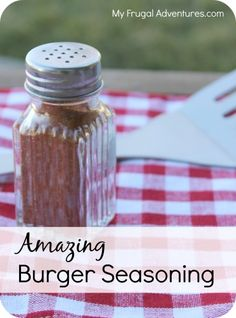How to Make Hamburger Seasoning {The Best Burger Seasoning}