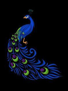 Peacock tat