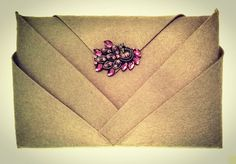 #handbag #origamicollection #chamelenway #onelayer #felt #nocut #workshop #inprogress #bigbutton #manypockets