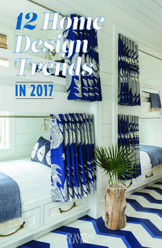 From faux marble to flamingos, the hottest Pinterest trends of 2017 are perfect for beach houses and beyond.