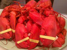 Capt. Joe's lobsters!