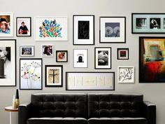 Painel de quadros