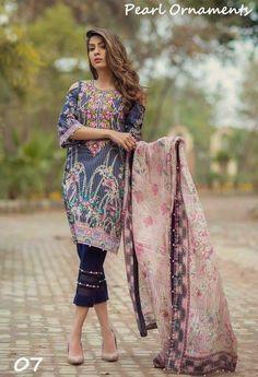 Noor Summer Lawn Collection 2017 By Sadia Asad | PK Vogue