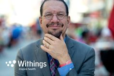 Penn Jillette loses over 100 pounds using Withings connected devices. Watch and see how he did it.