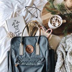 pinterest & insta: @esherwoo13 Mochila Kanken, Kanken Backpack, Nike Sportwear, Fjallraven, Black Leather Bags, Fashion Project, Cute Bags, Aesthetic Pictures, My Bags