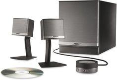 Bose Companion 3 Series II multimedia speaker system (Graphite/Silver) Bose http://www.amazon.com/dp/B000HZBR64/ref=cm_sw_r_pi_dp_1TCCwb0H75WG8