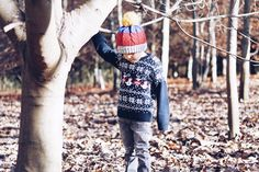 Mini Style: A Festive Walk in Polarn O. Pyret - kids fashion Mini Style Polarn O. Pyret review