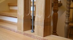 Villa Lake Maggiore – Wooden stairs Roncoroni Moretti