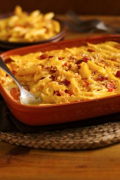 Bacon-spiked mac 'n cheese in just 15 mins!